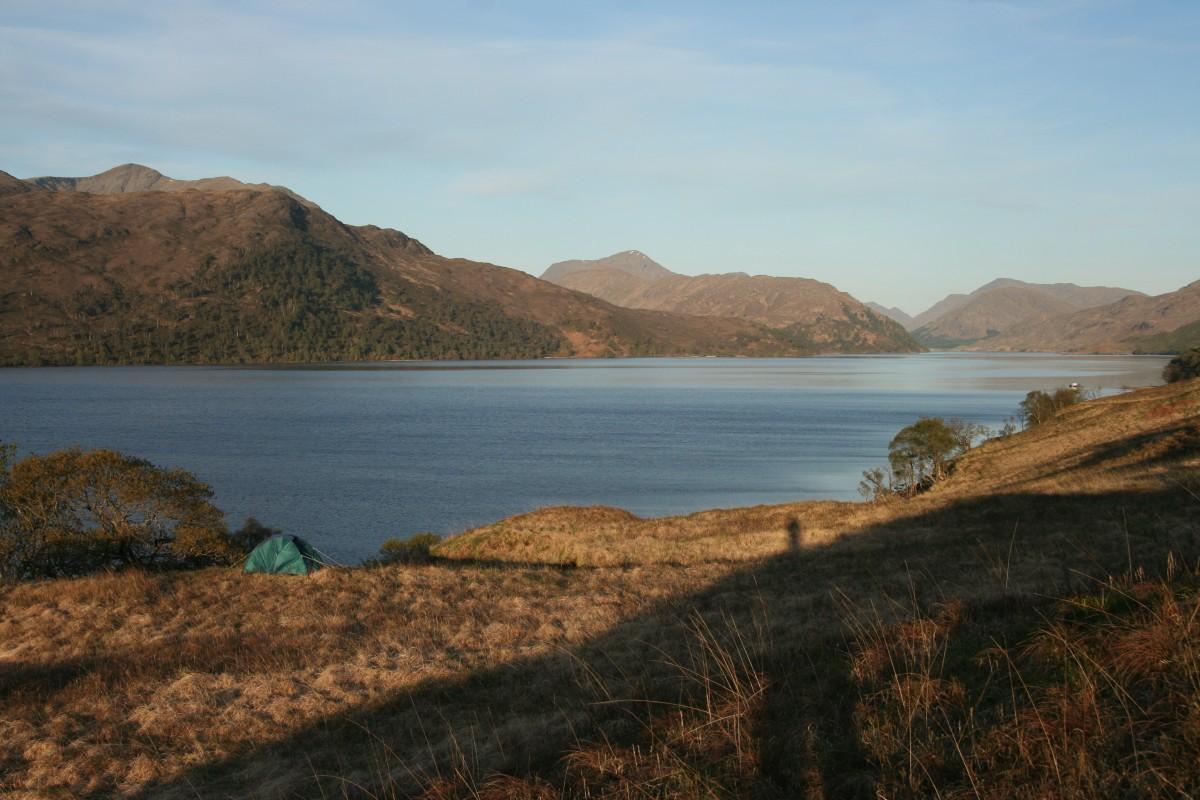 SM 12 tent bij Loch Arkaig