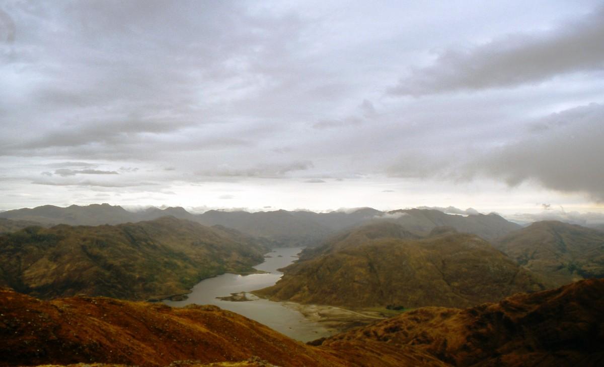 uitzicht op Loch Hourn