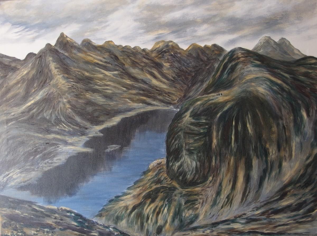 Loch Coruisk vanaf Sgurr na Stri