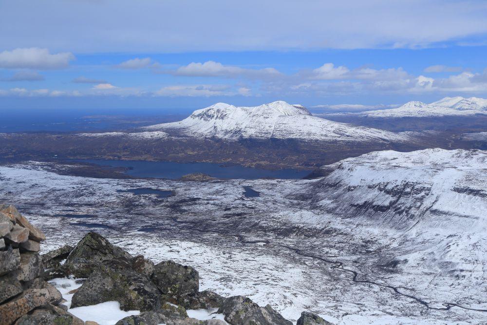 Loch Assynt en Quinag