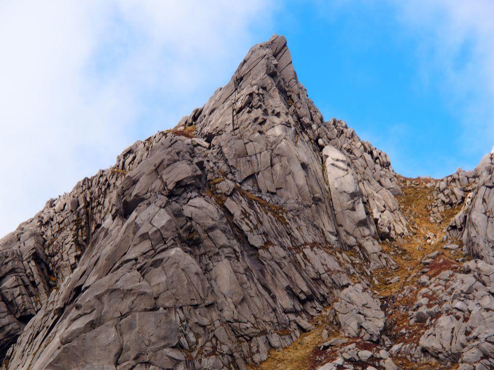 De Rosa Tower, een klimroute op Cir Mhor