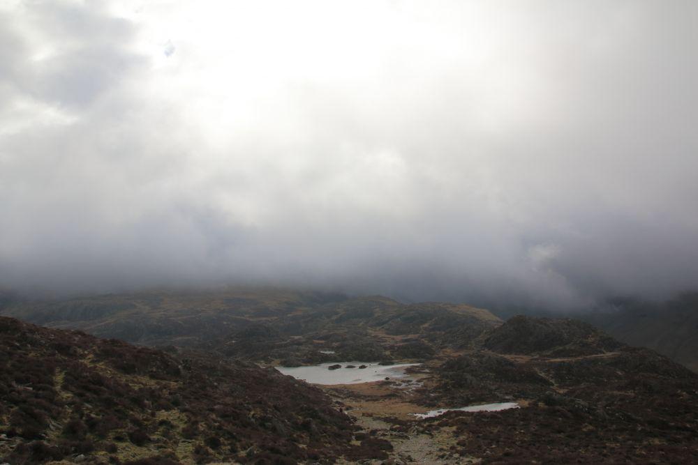 Innominate tarn ,gezien vanaf top Haystacks